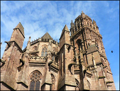 Rodez (angelsgermain) Tags: france tower art church architecture cathedral religion gothic middleages rodez averyron