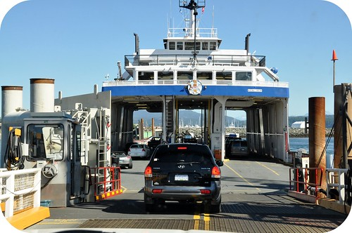 Quadra ferry