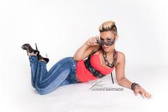 Photoshoot with Jasmine Santiago pt.2 (3o5) Tags: sexy beautiful tattoo model photoshoot headshots homestudio