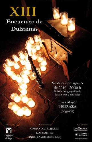 Cartel Encuentro de Dulzainas 2010
