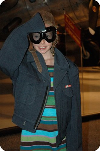 Aviator girl