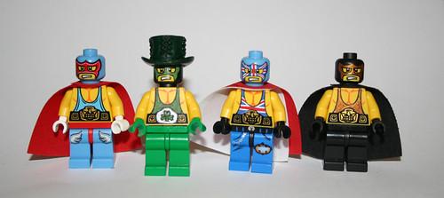 Lego Wrestling League