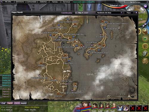 Otro mapa del juego