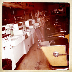 Barber Shop School College Chairs Sinks Haircuts Mirrors Dallas Texas Jefferson Boulevard Neighborhood Hispanic Mexican Culture Color Colorful West Oak Cliff Iphone IMG_1455 (Dallas Photo Today) Tags: school cliff west color history college shop restaurant dallas oak colorful boulevard texas dress chairs culture mirrors oakcliff neighborhood mexican barber jefferson hispanic gown haircuts sinks quinceanera