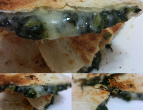 Spinach Quesdillas