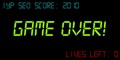 IYP SEO - Game Over?