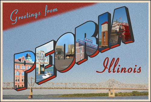 Greetings from Peoria Illinois