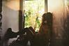 jkdfkjds (yyellowbird) Tags: house selfportrait abandoned window girl lights hallway cari dekalb