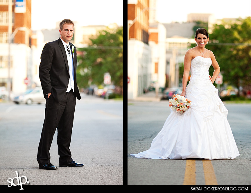 Kansas City wedding photography, Crossroads Art District