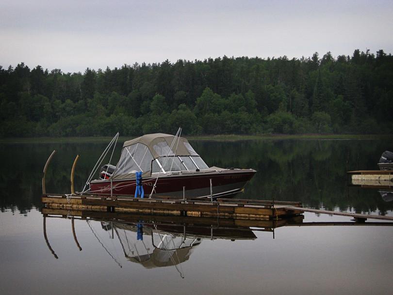 Boat at White Lake Provencial Park