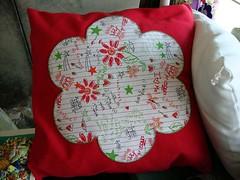 Almofada RETA MARGARIDA (Doce Trama) Tags: cores flor cama margarida sofá almofada quadrada estampas poltrona