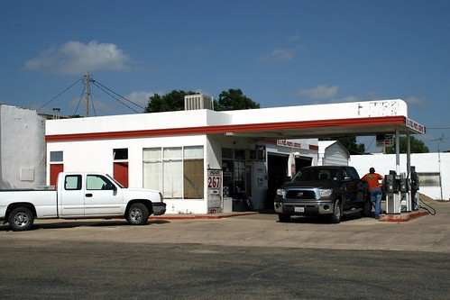 gas station on old route 66