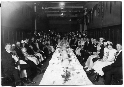Formal dinner, possibly at East Tech