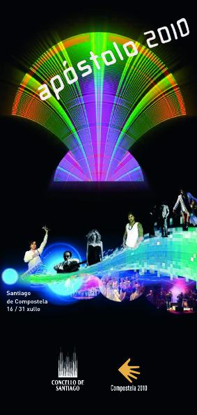 Santiago de Compostela - 2010 - Festas do Apóstolo - cartel