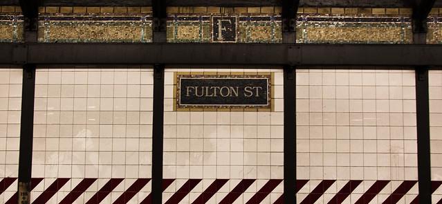 Fulton St. Station [EOS 5DMK2 | EF 24-105L@24mm | 1/6 s | f/4 | ISO200]