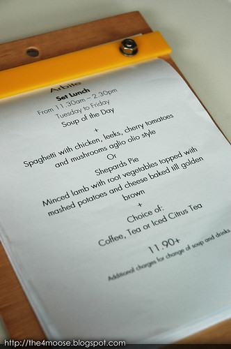 Arbite - Set Lunch Menu