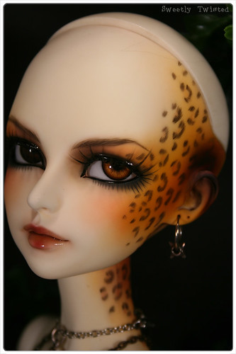 CP Lishe - Face-up/Leopard Tattoo/Neo Girl tattoo