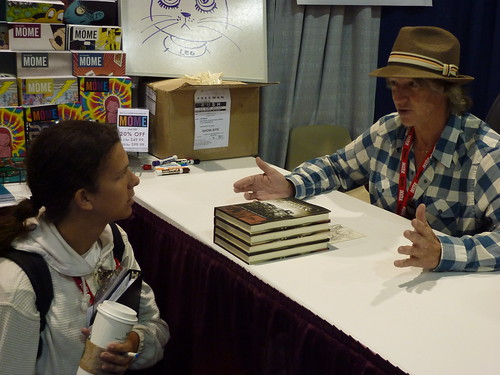 Monte Schulz - Fantagraphics at Comic-Con 2010
