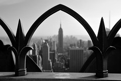 empire rock (snapstill studio) Tags: new york newyorkcity skyline state manhattan empire empirestatebuilding 30rock 30rockefeller