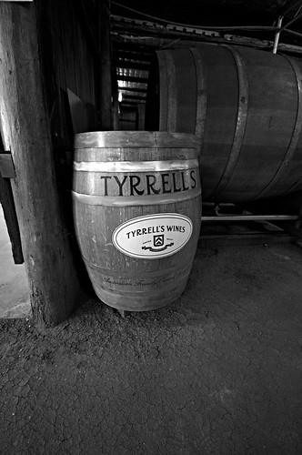 Tyrrells Wine Barrel