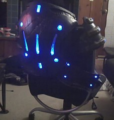 Armor Lights Back (ammnra) Tags: costume cosplay armor masseffect garrus