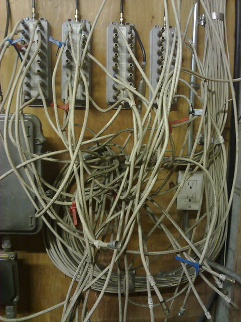 My condo's cable room. Eep.