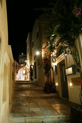 Santrini Oia イアの街並みとか。