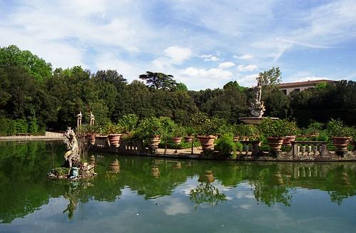 Giardini dei Boboli - Vasca dell`Isolotto