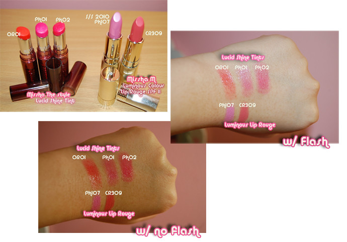 Missha lippies