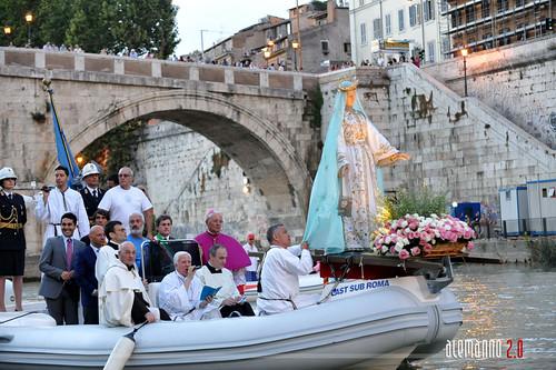 Rievocazione storica della processione Madonna fiumarola