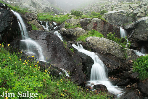 Waterfalls in Tuckerman Ravine
