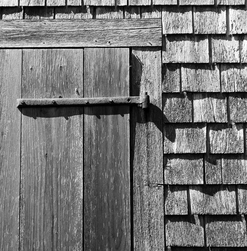 Watsons Farm bw door