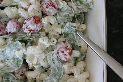 Cavatappi Pasta Salad @ Eat At Allie's