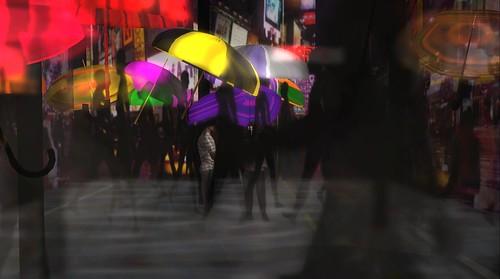 raftwet jewell at UWA Winner Nishi Mip's Umbrellas