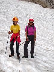 Na poletnem snegu / On summer snow (Damijan P.) Tags: mountains alps slovenia gore slovenija alpe logarskadolina hribi kamnikosavinjskealpe kamniksavinjaalps prosenak okreelj