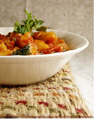 Tomato-Potato Curry