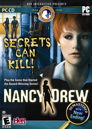 Nancy Drew: Secrets Can Kill proof 2