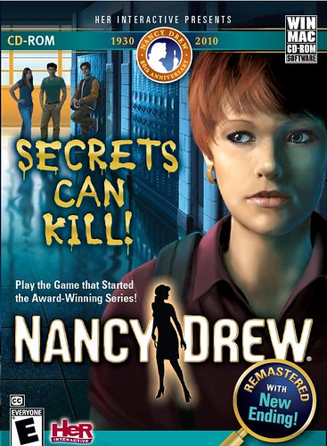 Nancy Drew: Secrets Can Kill REMASTERED final box art