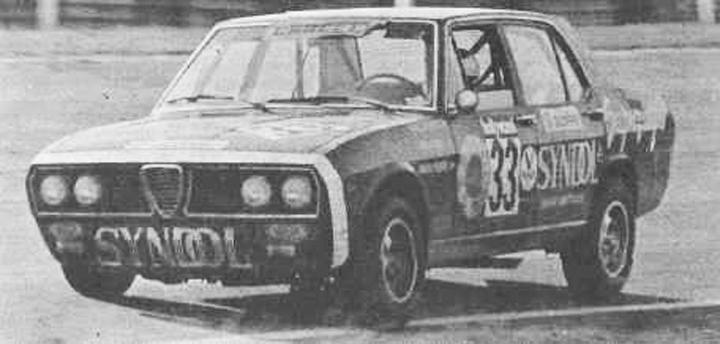 Alfa Romeo 2300 25 Horas de Interlagos de 1974