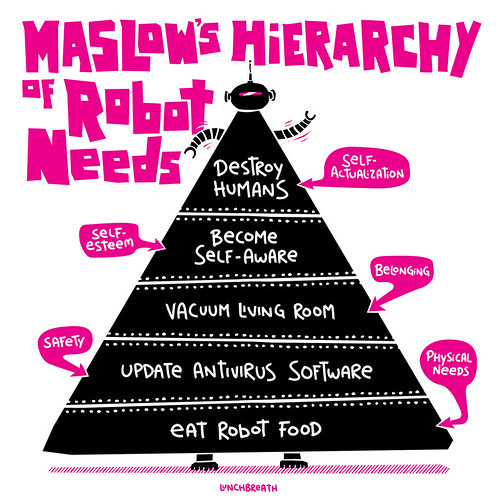 Hierarchy of Robot Needs by lunchbreath