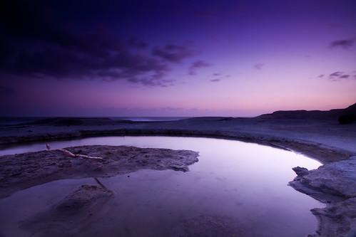 [フリー画像] 自然・風景, 海, 海岸, 夕日・夕焼け・日没, 201008062300