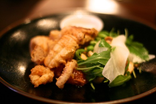 The Ginger Dog - Salt and pepper squid (approx £7.00)