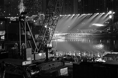 Under Construction (stecethan) Tags: marina bay construction singapore platform floating sands