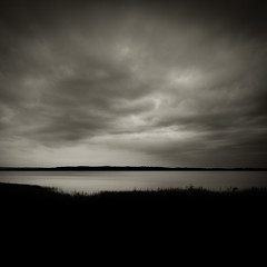 Ominous (Jeff Gaydash) Tags: blackandwhite water square michigan greatlakes traversecity grandtraversebay lakescapes