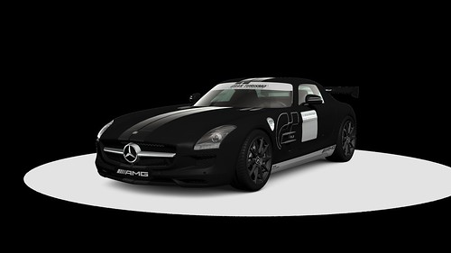 Mercedes-Benz SLS AMG Stealth Model