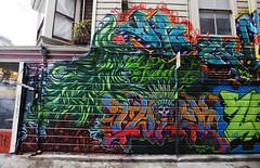 mad jungle (eb78) Tags: sf sanfrancisco california ca urban streetart graffiti mural bayarea mission piece burner plantrees
