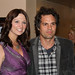 Jennifer Marks and Mark Ruffalo at Action on Film Festival 2010