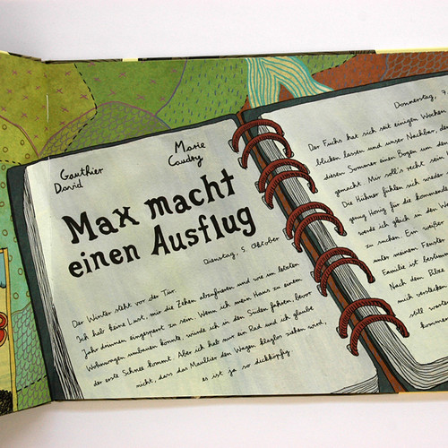 Book_MaxMachtEinenAusflug2, Book Cover Design