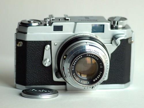 esprit官网 he8245f-Konica开发这自家第一代135相机可是不惜成本使尽浑身解数,   全机图片