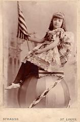 Ethelyn Marguerite Hinson at the 1893 Chicago World's Fair (sctatepdx) Tags: tiara oldphotographs oldphotos 1893 vintagephotos vintagephotographs 1893worldsfair vintagegirls 1893chicagoworldsfair victorianchildren victoriangirls victoriankids worldfaircabinetcards